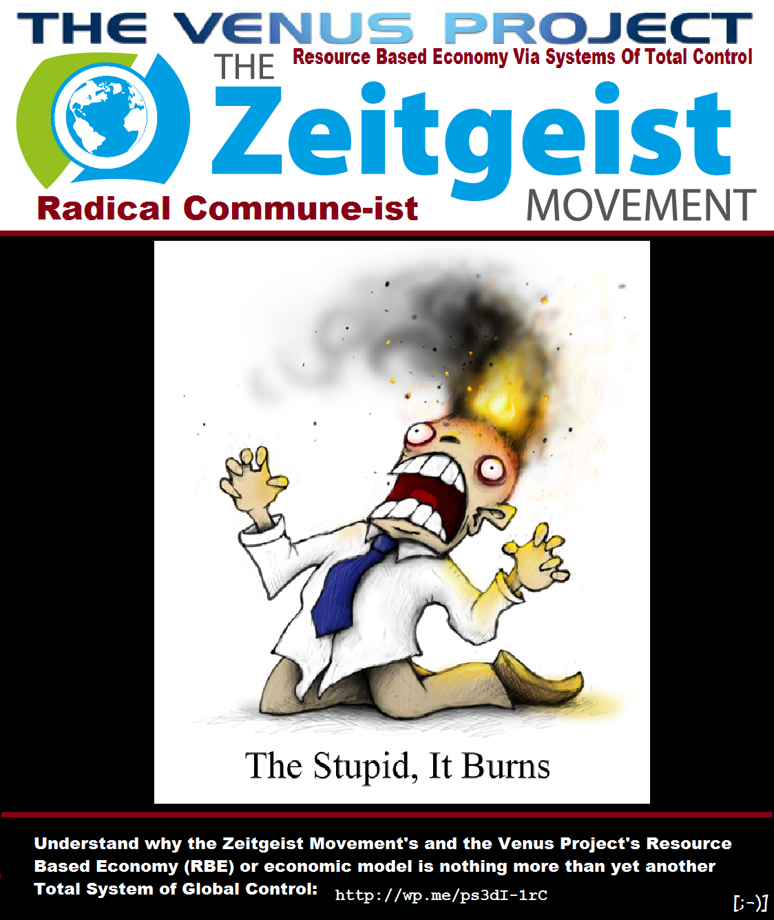 The Zeitgeist Radical Commune-ist Movement I hope you have a RBE Permit for that Resource